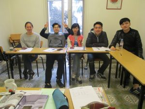 2 Semester program for chinese students from the Conservatoire de Perpignan